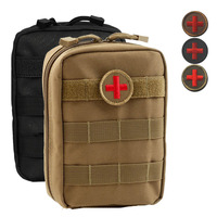 Empty Bag For Emergency Kits Tactical Medical First Aid Kit Military Waist Pack Outdoor Camping Travel