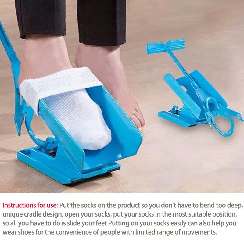 Tragbare Verletzungen Liefert Ältere Helfer Schwangere Zubehör 1 stück Kunststoff Tragen Socken Aids Einzigartige Cradle Design