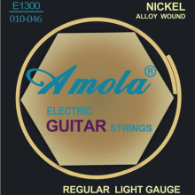 Elixir 12077 Nanoweb անվճար առաքում .010-.052 Էլեկտրական կիթառի լարեր Super Light երաժշտական գործիքների կիթառի մասեր մեծածախ