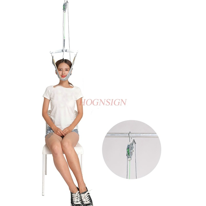 Cervical traction device home stretching medical hanging cervical spondylosis neck treatment device neck orthosis traction frame in Neck Tractor from Beauty Health
