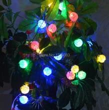 30pcs/lot 20 lights LED Wicker Balls Wedding Party String Lights Hand Weaved Rattan String Ball Lantern Xmas Ball