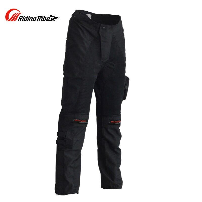 Marque équitation tribu Moto course costume pantalon Moto vêtements résistance aux chutes course pantalon avec genouillères