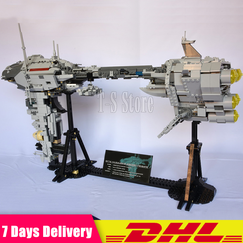 DHL IN Stock LEPIN 05083 Star 1736PCS Wars 1736 PCS Star Wars UCS Nebulon-B Medical Frigate Building Blocks Bricks Set DIY Toy lepin 05037 star wars ucs slave i slave no 1 model 2067pcs minifigure building block toys 100