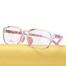 Crianças óculos menino menina óculos de pouco peso quadro crianças prescrição óculos quadro silicone cuidados com o nariz 686