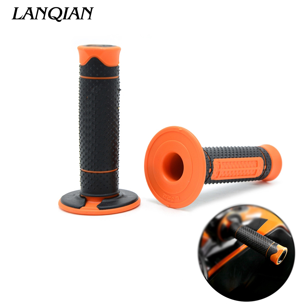 Handle Grips HandleBar Rubber Pro Motocross Motorcycle For KTM 530XC-W XCR-W EXC-R FREERIDE 250R FREERIDE 350 DUKE 690 Enduro RHandle Grips HandleBar Rubber Pro Motocross Motorcycle For KTM 530XC-W XCR-W EXC-R FREERIDE 250R FREERIDE 350 DUKE 690 Enduro R