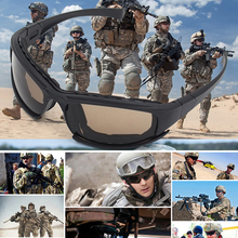 Tactical Glasses Military Goggles Army Sunglasses With 4 Len