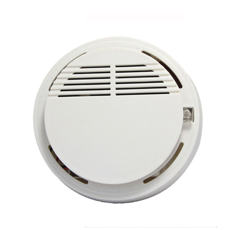 цена на High Sensitivity Smoke Detector Fire Smoke Alarm Sensor Standalone Photoelectric Smoke Detector Security System For Home Kitchen