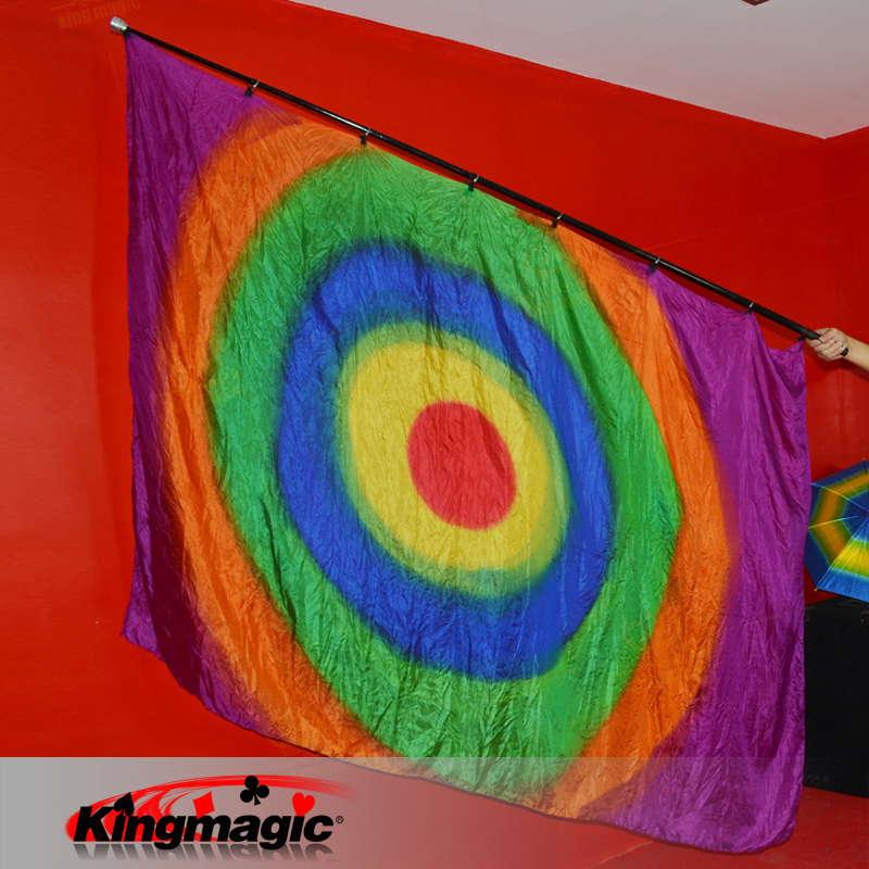 1 set pôle vide pour drapeau soie scène tours de magie accessoire magique tour de magicien professionnel de haute qualité