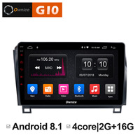 Android 8,1 автомобиль DVD GPS стерео радио мультимедиа для Toyota Tundra 2007 2013 Sequoia 2008 2009 2010 2011 2012 2014 2015 2016 2017 2018