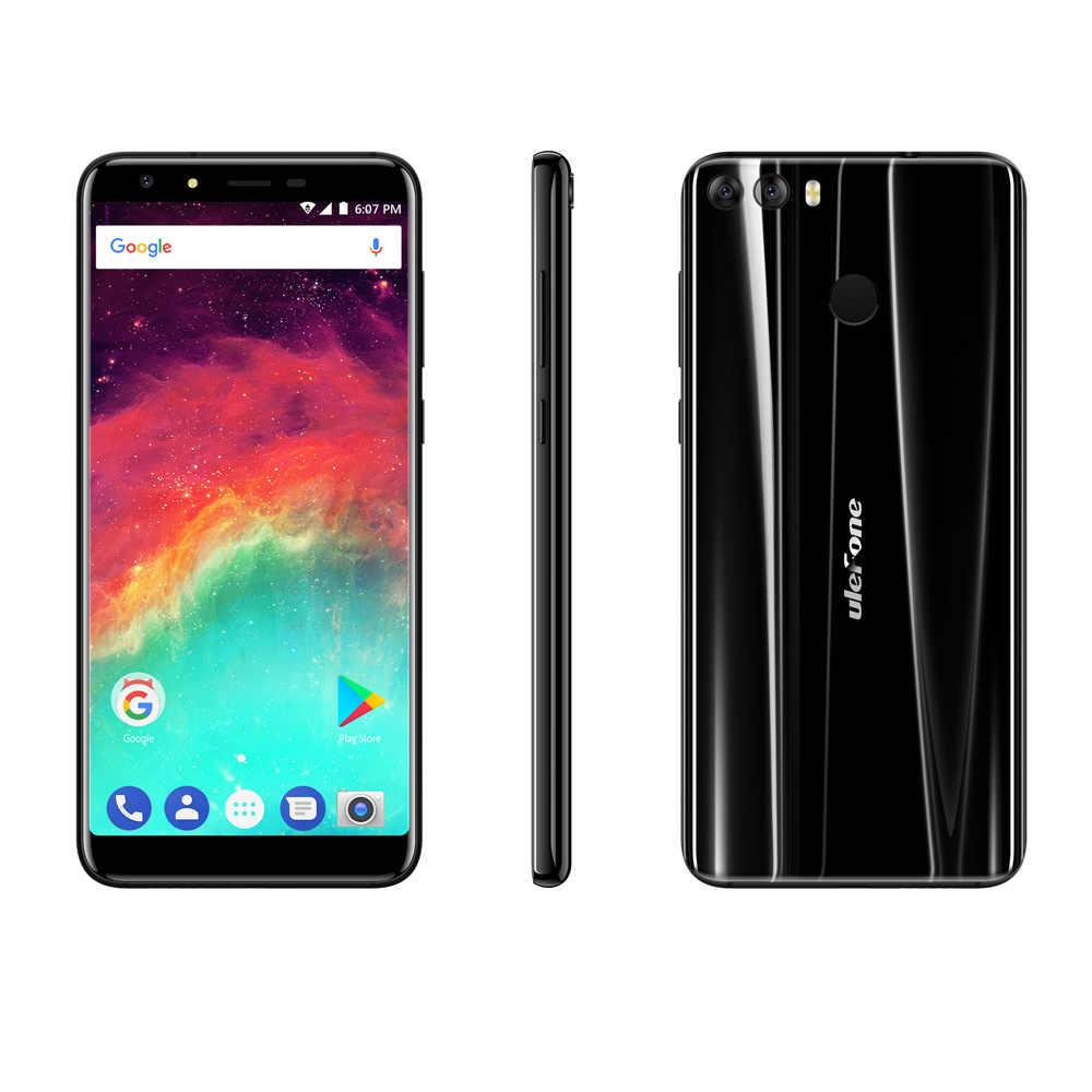 "Ulefone לערבב 2 5.7 ""HD + 18:9 מסך MTK6737 Quad Core אנדרואיד 7.0 טביעת אצבע 2GB + 16GB נייד טלפון 13MP מצלמה כפולה נייד"
