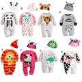 1 pc Bonito Animal do Estilo de Algodão Do Bebê Conjuntos de Roupas Meninas Menino Romper Outono Outwear Roupas de Bebê Romper -- MKE023 PT49