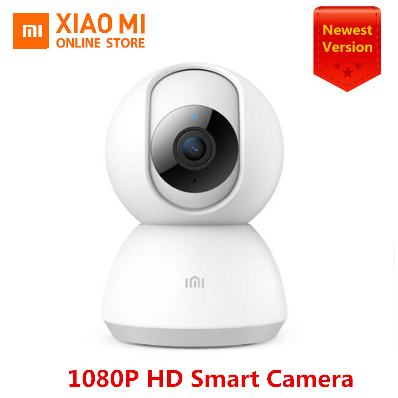 100% Original Xiaomi Mijia Smart Camera 1080P HD 360 Angle Video Infrared Night Vision Two-way Voice WIFI Smart Camera Baby View(China)