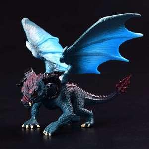 Image 1 - 1 個 12 センチメートルシミュレーションマジックドラゴン恐竜始祖鳥 pvc 固体アクションフィギュア玩具人形モデル装飾子供大人のギフト