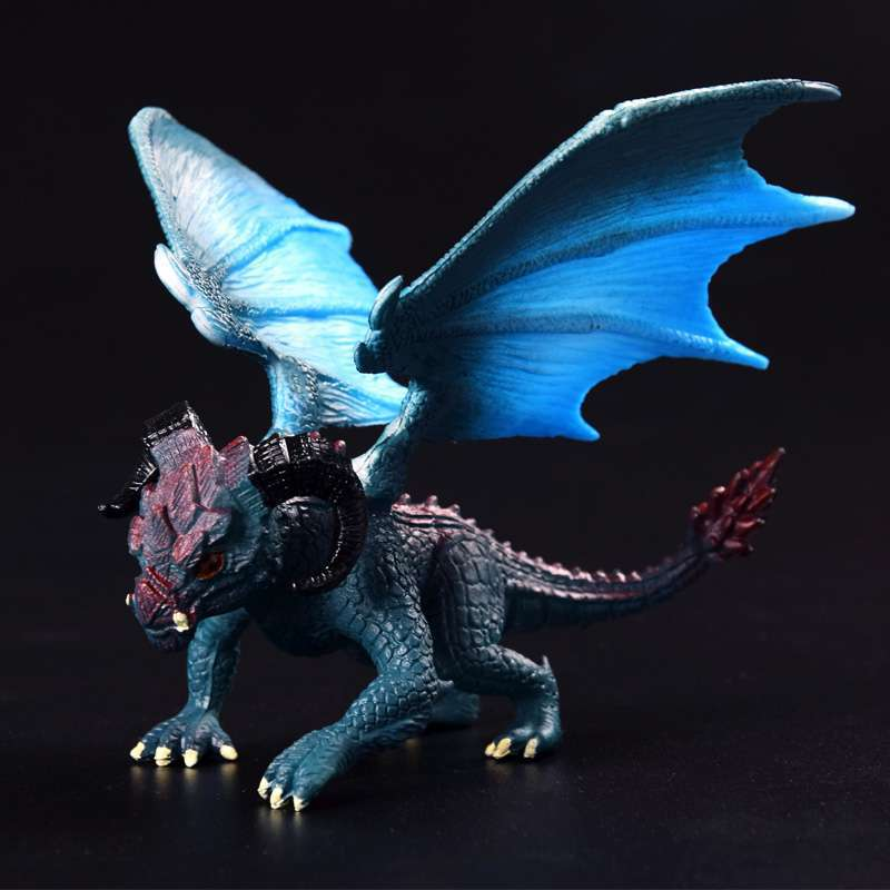 1Pcs 12cm Simulation Magic Dragon Dinosaurs Archaeopteryx PVC Solid Action Figure Toy Doll Model Decoration Kid Adult Gift