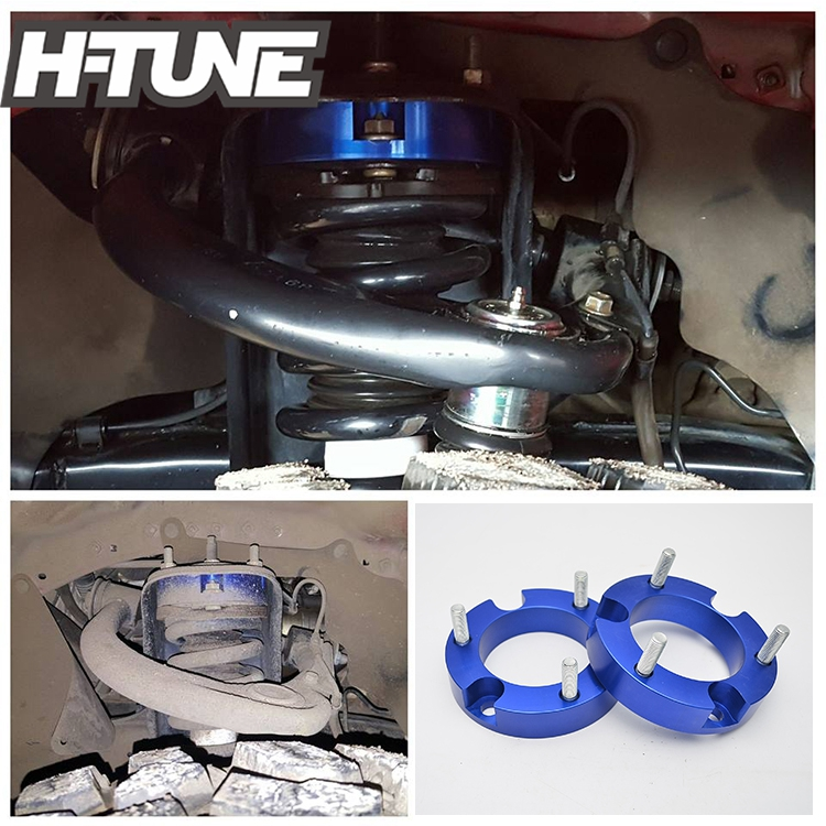US $55 14 6% OFF H TUNE 4x4 Accesorios 1inch Suspension lift Kits Front  Coil Strut Shock Spacer For Hilux Revo /Fortuner 4WD 2012 2015 2016-in Lift
