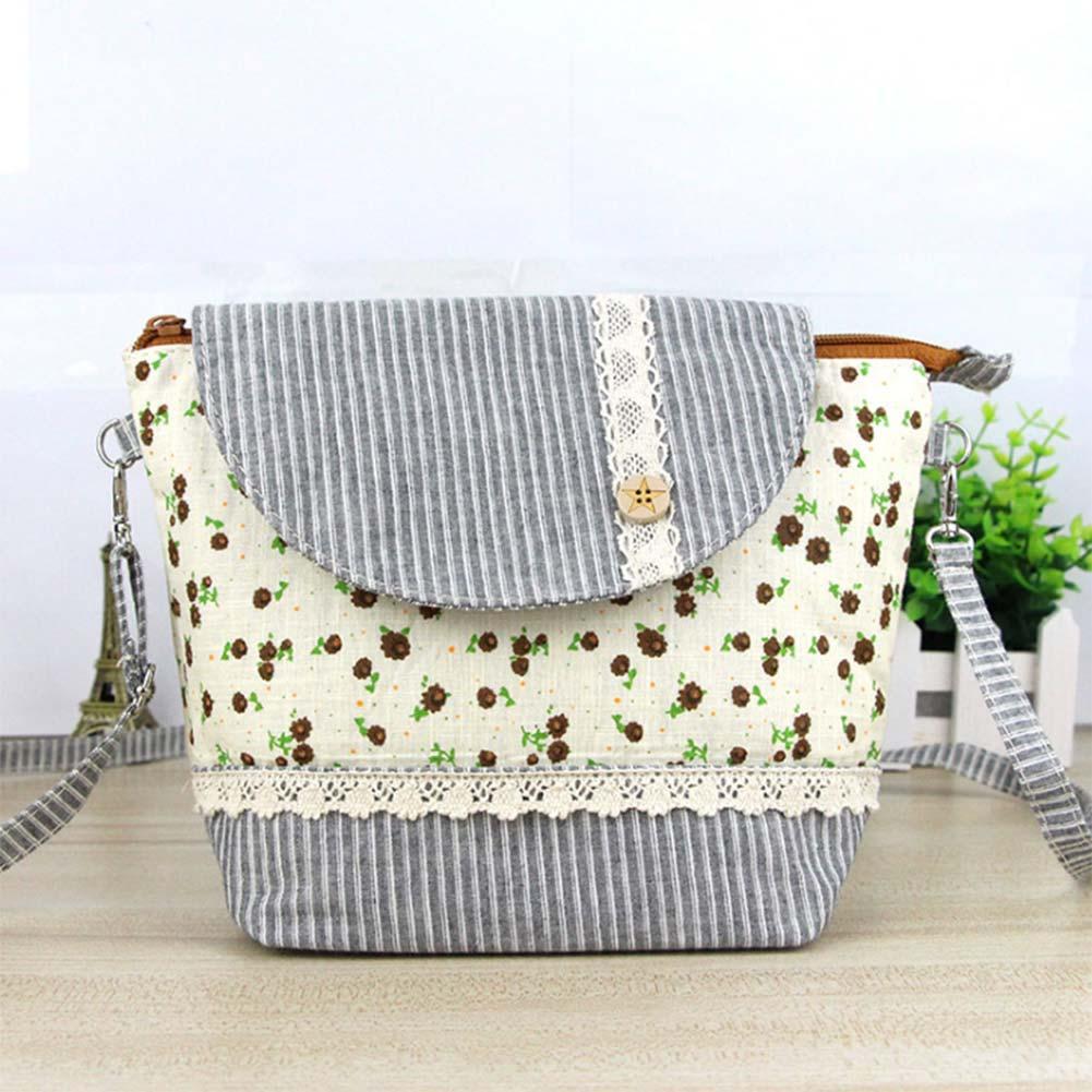 Women Mini Shoulder Bag Crossbody Flower Lace Phone Money Sweet Bags BS88 2