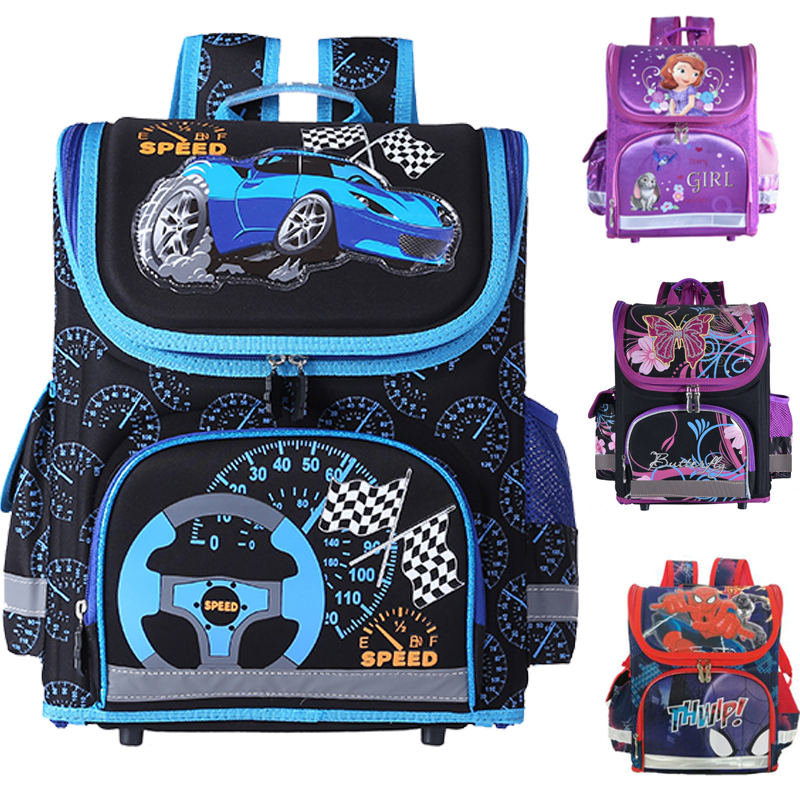 Kids school Backpack monster high butterfly winx EVA FOLDED orthopedic Children School Bags for boys and Girls mochila infantil