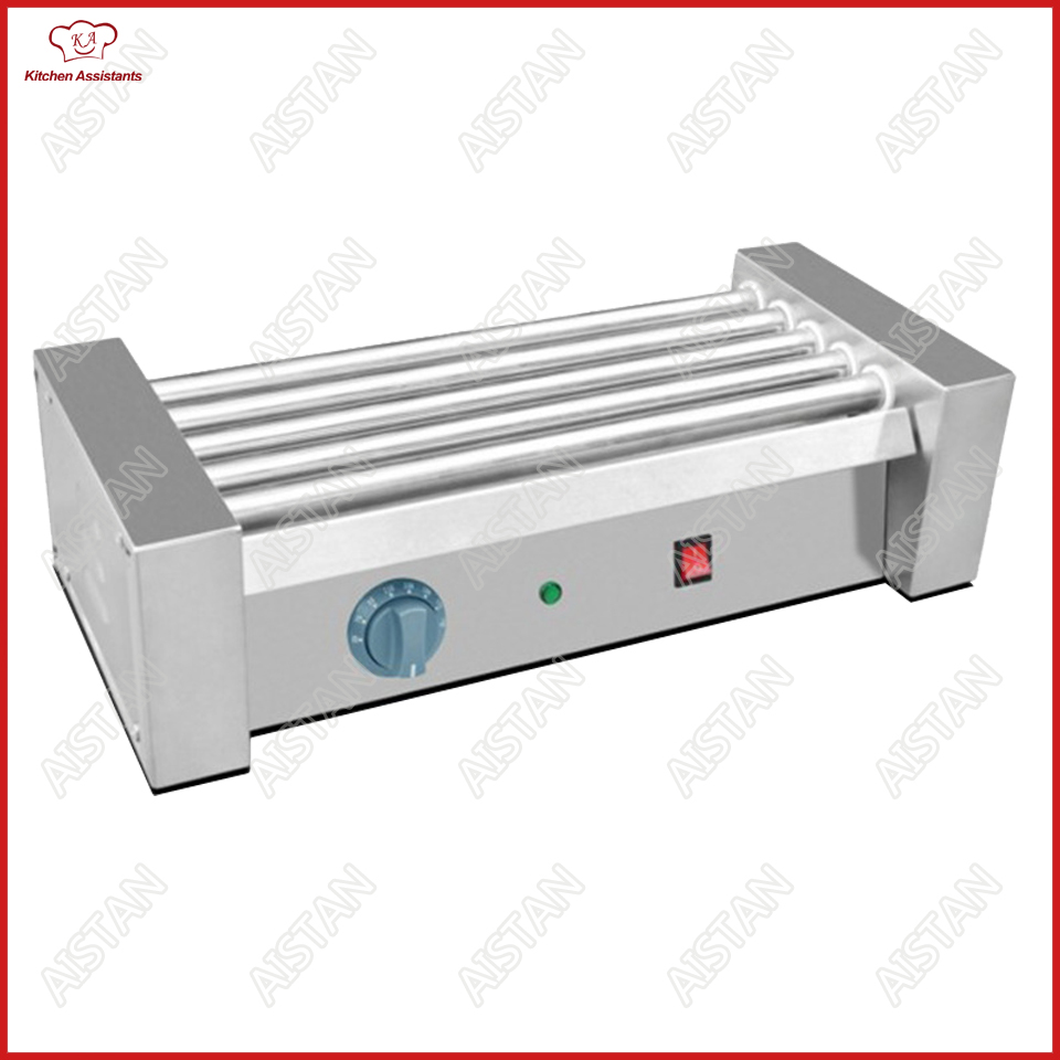 FY Series Electric Hot Dog Grill Machine Sausage Meat Ball Roller Cooking Machine Stainless Steel 5/7/9/11 Roller цена и фото