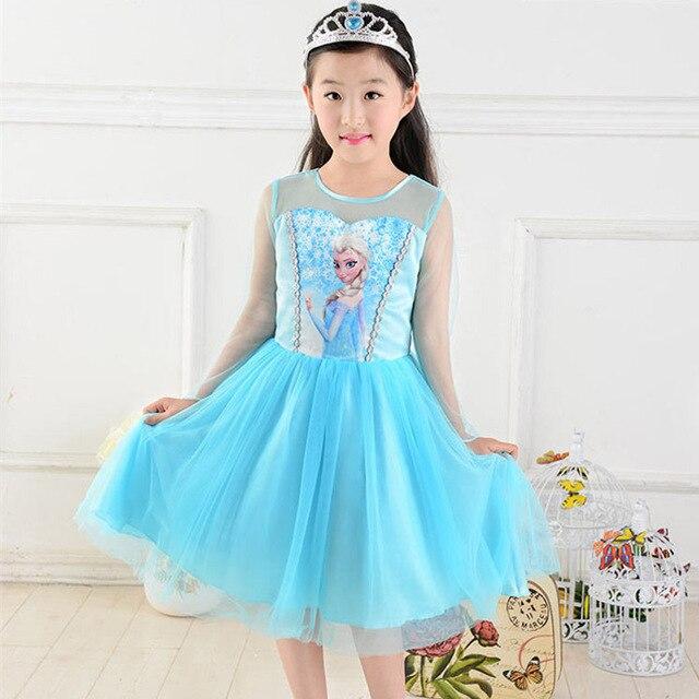 Romance Girls Clothes Ice Princess Dress Foundation Dress For 2 7