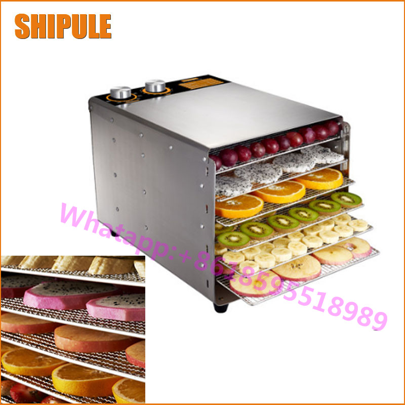 SHIPULE large capacity 6 layer fruit dry machine vegetable dehydration machine electric food drying machine 1pcs 8 layer fruit dry machine dehydration machine large capacity food drying machine