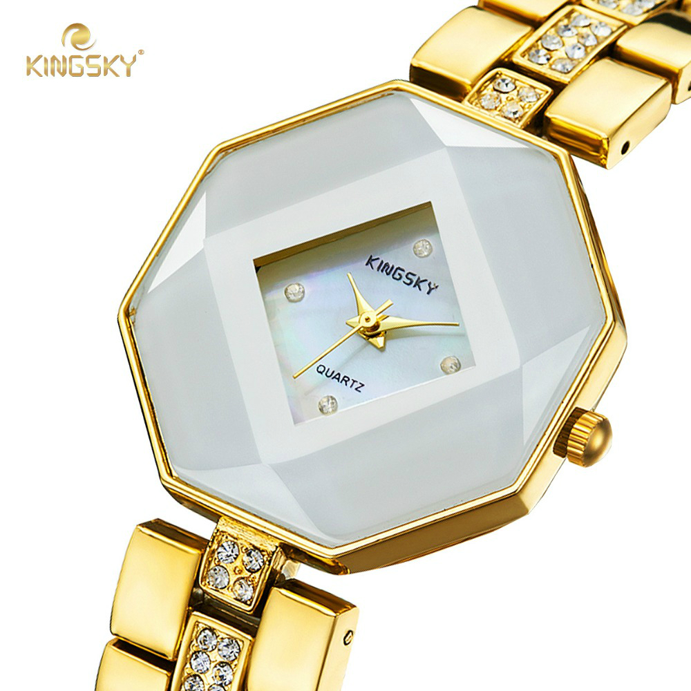 Watch Women Montre Femme KINGSKY Women New Casual Watches Brand Famous Japan Quartz Fashion Reloj Mujer 2016 Free Shipping