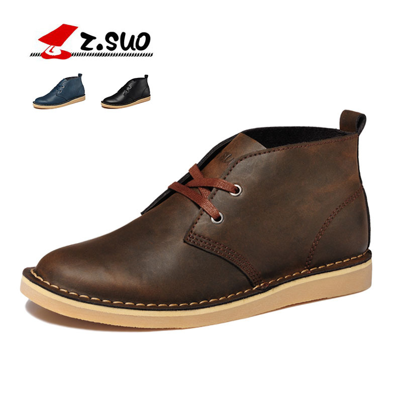 ФОТО Autumn Winter Large Size Mens Boots Warm Cow Split Shoes Mens Casual Comfortable Martin Boots Zapatos Hombre chaussure SG080