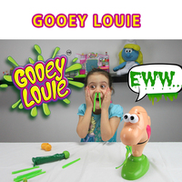 2019 New Hot Sale Kids Funny Gooey Louie Game Sentimental Real Louis Party Snot Insect Desktop Tricky Toys squishy Toy Joke Play