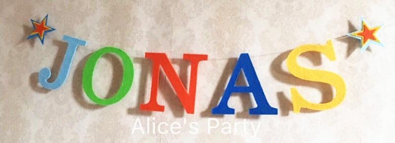 Us 10 59 Aliexpress Com Koop Handgemaakte Baby Douche Banner Custom Baby Naam Bunting Hot Rainbow Brief Verjaardag Slingers Party Decoraties