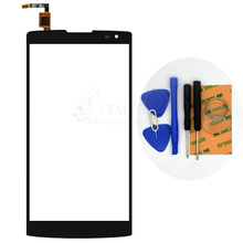 Black TP for Alcatel Orange Nura 4G 5.5″ Touch Screen Digitizer Front Glass Panel Sensor No LCD Replace Part Free Shipping+Tools