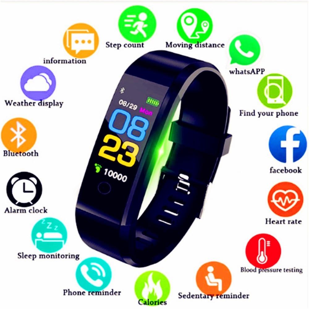 Box KöStlich Im Geschmack Home Onevan Neue Smart Uhr Männer Frauen Herz Rate Monitor Blutdruck Fitness Tracker Smartwatch Sport Uhr Für Ios Android
