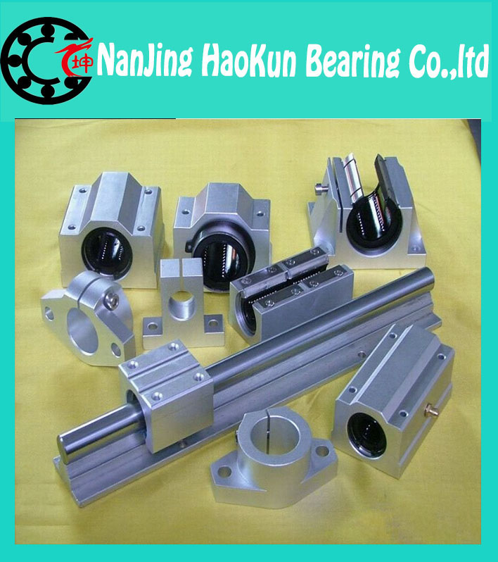 ФОТО  SBR16 L 1500mm linear shaft rail support with SBR16UU motion auminum bearing sliding block for router part