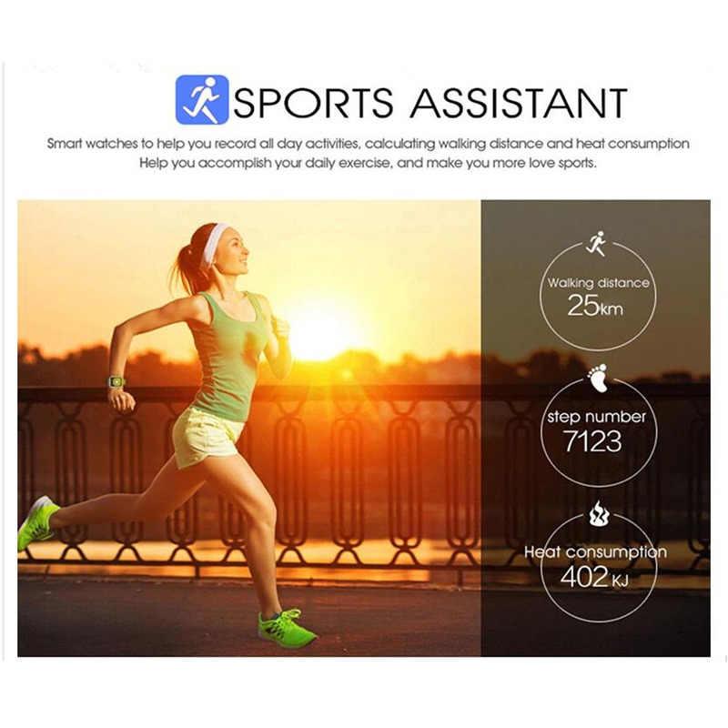 GEJIAN บลูทูธสมาร์ทนาฬิกาผู้ชาย Q18 Touch หน้าจอแบตเตอรี่ขนาดใหญ่สนับสนุน TF ซิมการ์ดสำหรับโทรศัพท์ Android Smartwatch