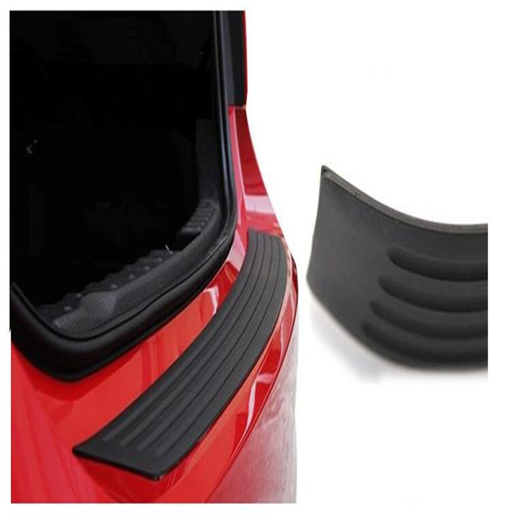 Car Rubber Rear Guard Bumper Protector Trim For Land Rover discovery 2 3 4 sport freelander 1 defender evoque Accessories