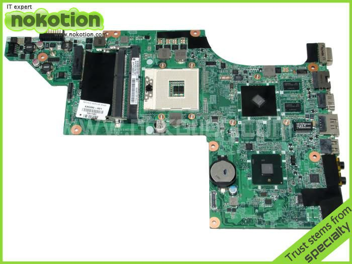 NOKOTION laptop motherboard for HP DV6 DV6-3000 series 630280-001 DALX6MB6H1 HM55 Mobility Radeon HD 5470 DDR3 Mother Borads nokotion 650199 001 laptop motherboard for hp pavilion g4 g7 hm65 mobility radeon hd ddr3 mainboard mother boards