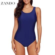 Zando 2019 New  Summer Sexy Swimsuit One Piece Women Backless Swimwear Bathing Suits Monokini Slimming Bodysuit