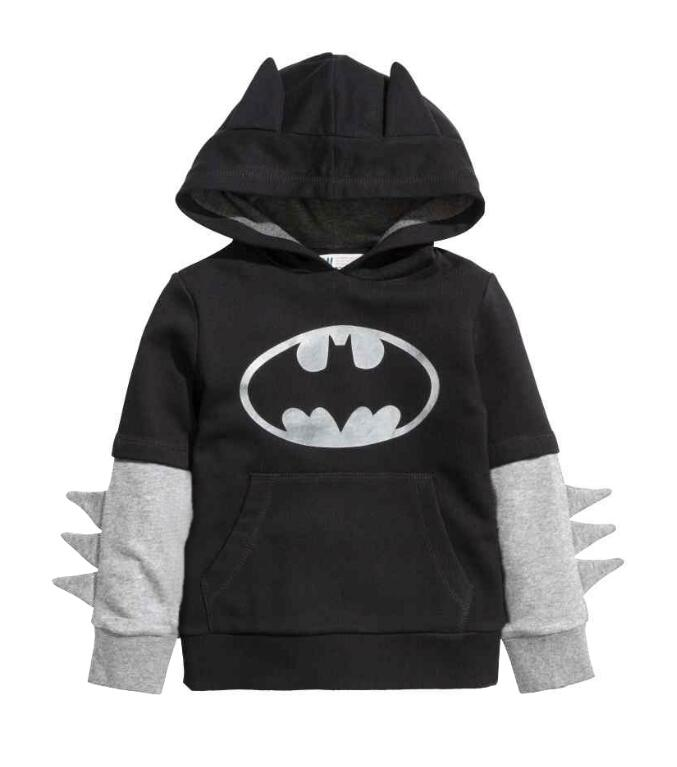 buy new baby boys clothing sets cartoon batman cosplay sport suit kids hoodies pants 2pcs outfits set children sweatshirt from reliable