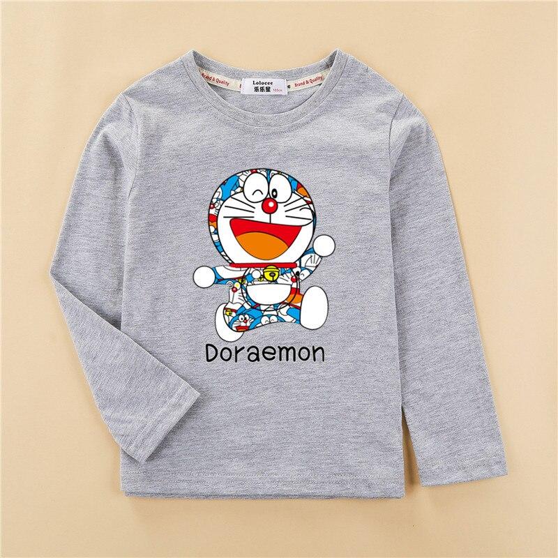 Fashion wreath kitten clothes children t-shirt girls tops long sleeve cotton tees girl cute print shirt 5