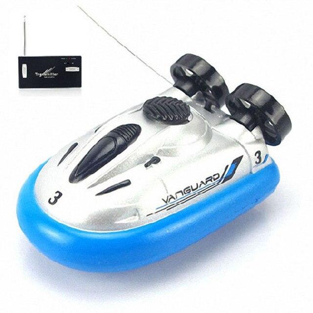 2016 Classic Mini Radio Control remoto Hovercraft Hover RC barcos barco de pesca de agua regalos para niños envío gratuito venta al por mayor