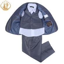 Nimble Grey Fashion suit for boy roupas infantis menino Children Wear jogging garcon blazers for boys