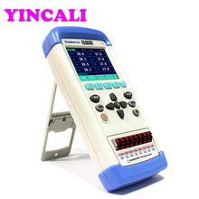 Handheld Multi-channel Temperature Meter Tester AT4208 Digital Data Logger 8 channels Thermometer