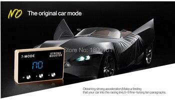Pedal booster car change personized parts LED 7mode Throttle Controller for BAOJUN 630 610 Beidouxing Wuling Hongguang Rongguang