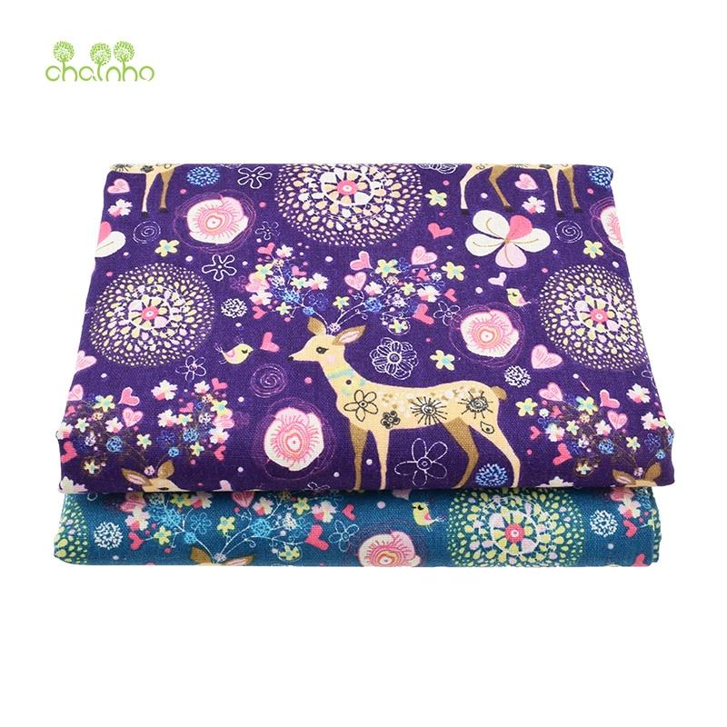 Tiskana pamučna platna tkanina za patchwork prošivanje šivanje DIY - Umjetnost, obrt i šivanje - Foto 2