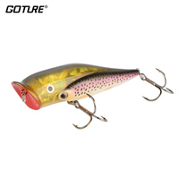 GOTURE Top Water Popper Lure Group Fishing Lure 10cm 25 5g 3 94 0 9oz VMC