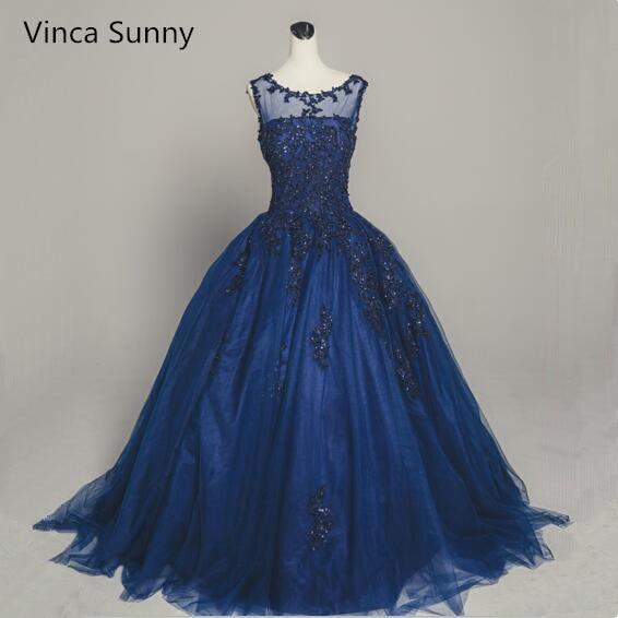 New Design Scoop Evening dress 2018 Beaded Appliquet Prom Dress Open ...