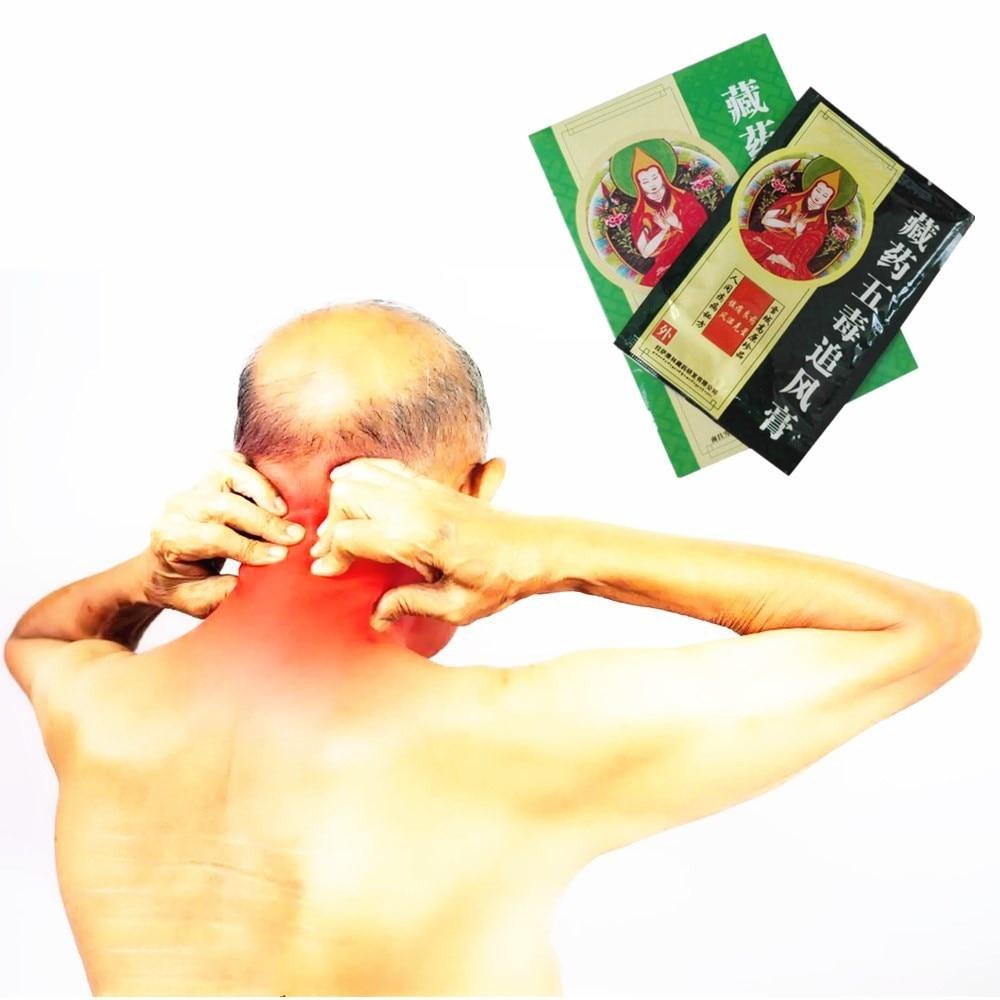 Emperor Scorpion Venom Balm Pain Relief Plaster Chinese Herbal Joint Arthritis Far IR Heating Essential oil Patch