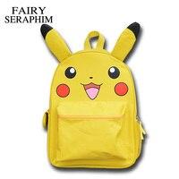 Anime Pokemon Monster Backpack Boys Girls School Bags Pikachu Prints Backpack For Teenagers Kids Backpacks Schoolbags