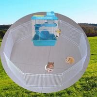 Small Pet Fence Cage Free Activity Large Space Pet Playpen For Hamster Hedgehog Guinea Pig Hamster Cage