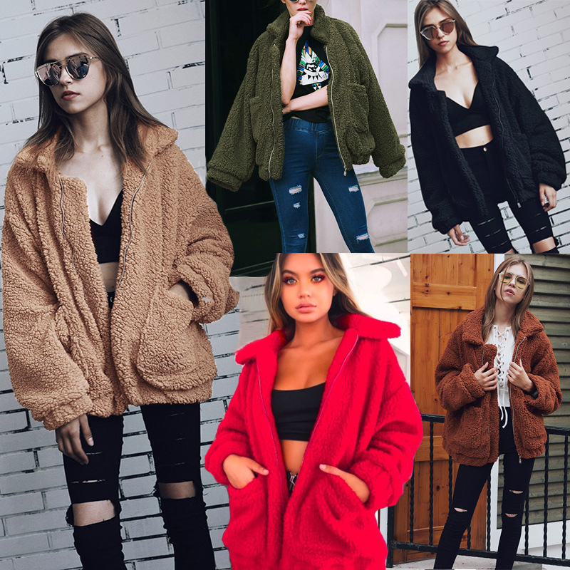 Plus Size XXXL   Parkas   Women Winter Coats With Fur Loose Ladies Casual Female Winter Jackets Coat Outwear 2018 Women   Parkas   DR81