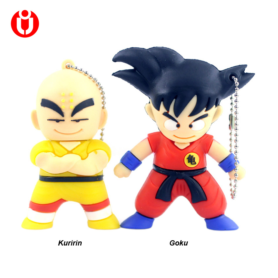Cartoon Pendrive Dragon Ball usb flash memory stick thumb drive 4gb 8gb 16gb 32gb 64gb K ...