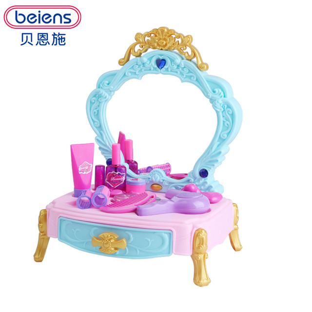 Beiens 22 unids cosméticos niños Dollhouse Muebles accesorios ...